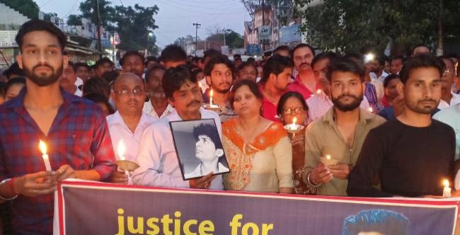 abhishek candle march