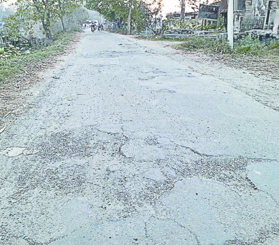 broken roads bijnor