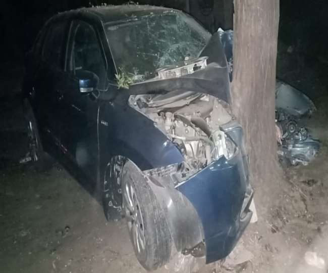 car accident nagina