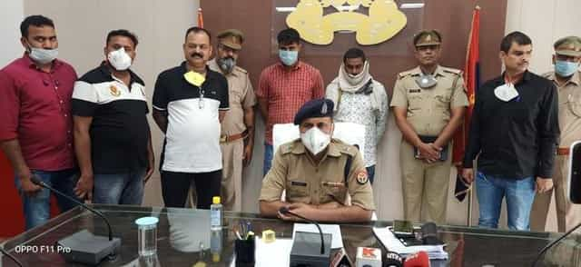 fake liquor gang busted bijnor
