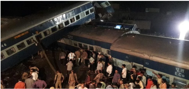 muzaffarnagar train accident