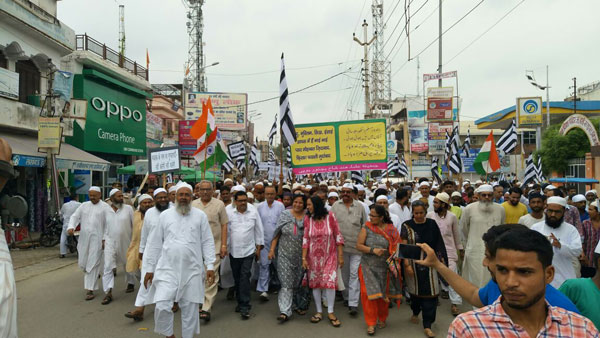 peace march bijnor
